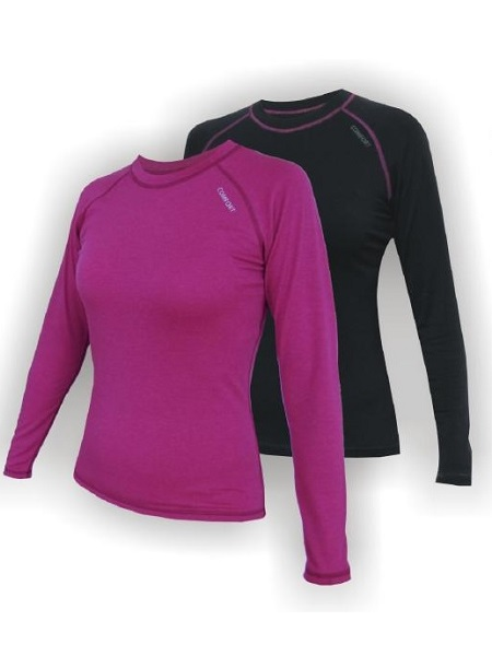 5aabfc3c20b0 JITEX Ibaka 802 dámské tričko dlouhý rukáv merino (sytě růžová) -  VitaSport.cz - běžecký e-shop - Salming